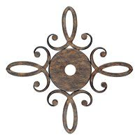 CANOPY4162RT Reserve Optional Decorative Canopy Ceiling Medallion, Rustic
