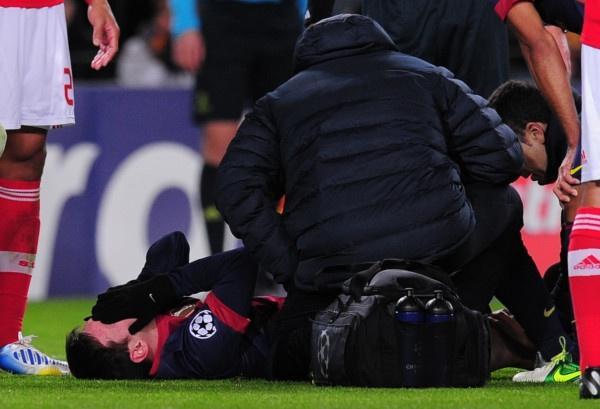 Cedera, Lionel Messi terancam gagal pecahkan rekor Gerd Muller