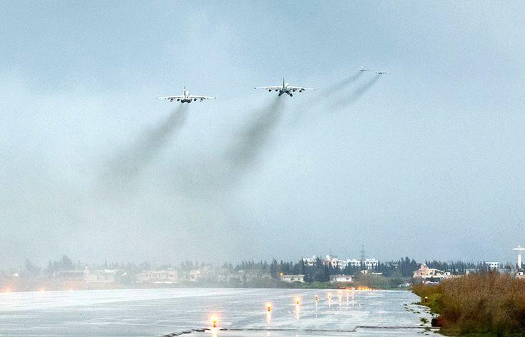 ТАСС: Международная панорама - Американские военные заявляют об опасном сближении самолетов РФ и США над Сирией