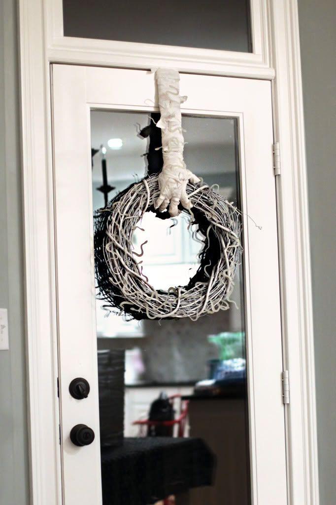 Best 25+ Halloween door wreaths ideas on Pinterest