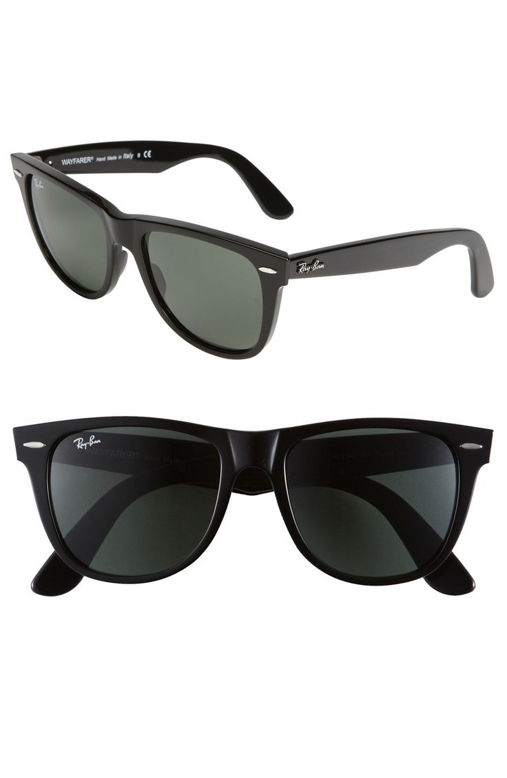 Ray-Ban 'Classic Wayfarer XL' 54mm Sunglasses available at #Nordstrom