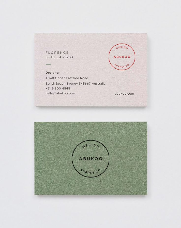Business cards | Abukoo