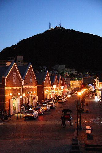 Bay Side w/ Mt. Hakodate  #japan #hokkaido