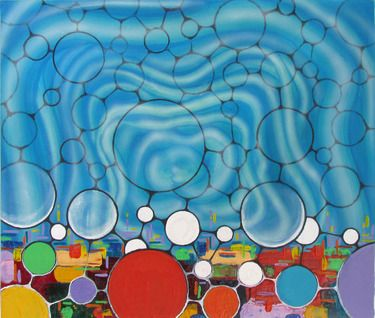 """Saatchi Online Artist Guido Pierandrei; Painting, """"GOVERNMENTOFLOVE n.7"""" #art"""