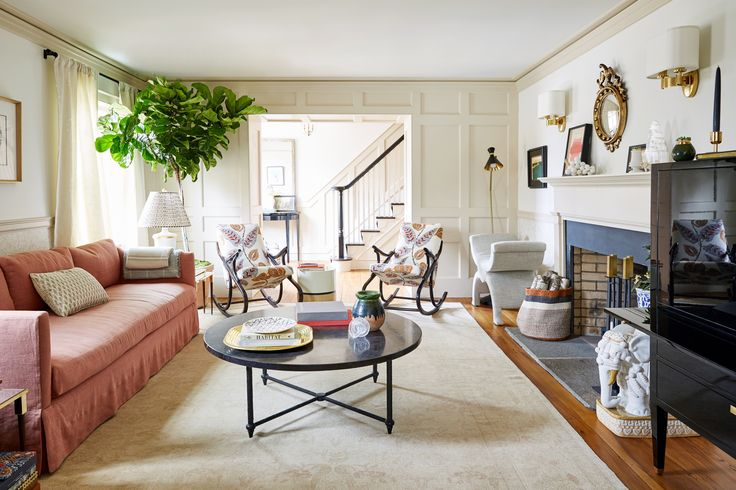The Unexpected Transformation of a Connecticut Country Home