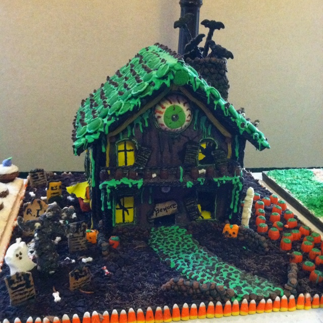 150 Best Images About Halloween Gingerbread Houses On