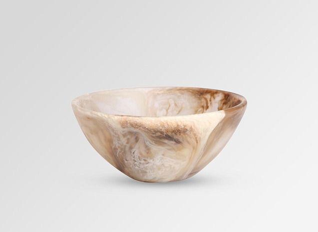 Dinosaur Designs - small ball bowl (light horn)