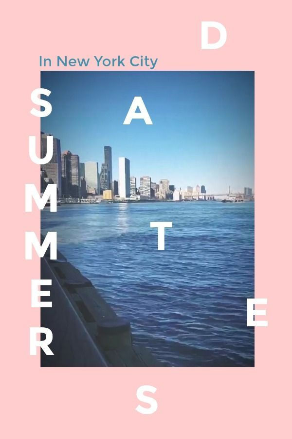 Summer date night ideas nyc