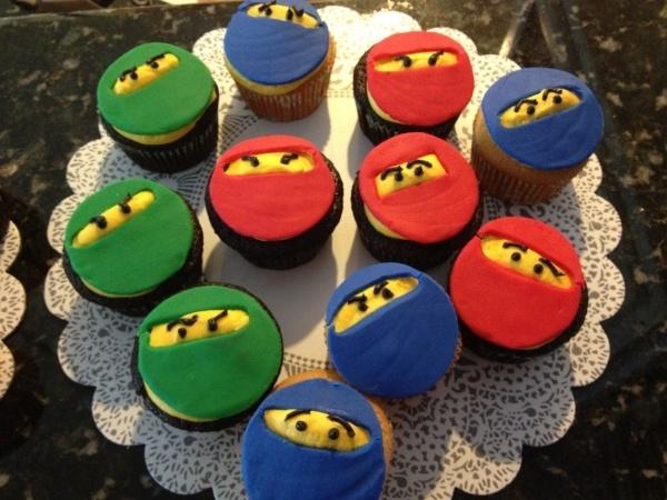 LEGO Ninjago Birthday Cupcakes