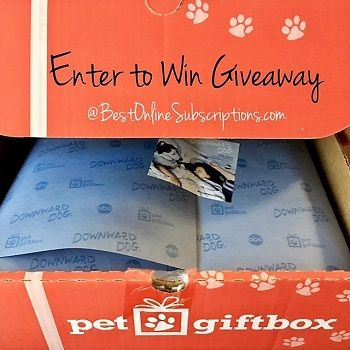 ENTER TO WIN GIVEAWAY - WIN THIS PET GIFT BOX   #cats #dogs #giveaway #pets #reviews #specialoffers #giveaway #win #entertowin #petgifts #petgiftboxgiveaway #contest #subbox #petgiftbox #subscriptionbox #freebox #petbox #boxfordogs #puppytreat