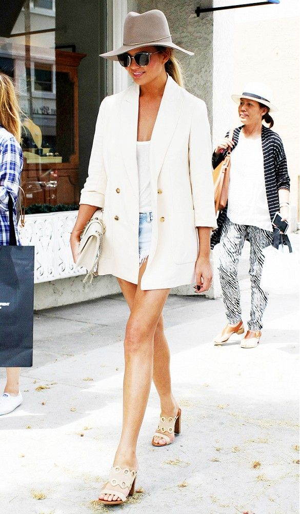 The Best Celebrity Hat Looks Of The Summer White Bags