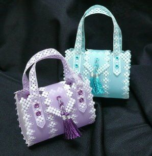 """lovely bags in parchment craft: My book """"Lovely bags in parchment craft"""""""