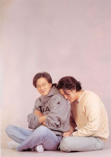 with Park Yong Ha...