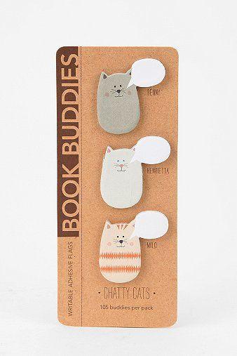 Book Buddies Sticky Notes - Set Of 3
