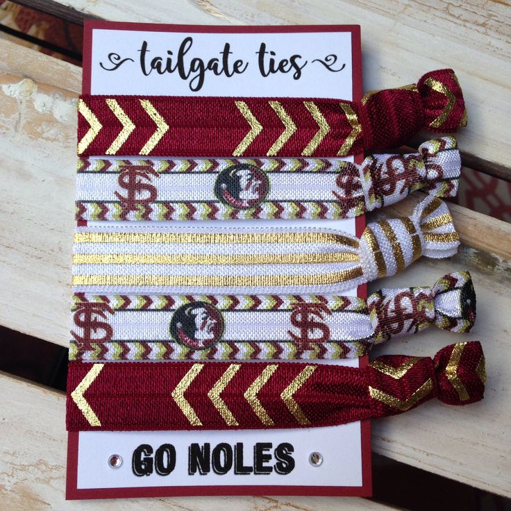 Florida State Game Day Hair Ties