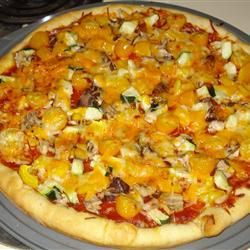 Pizzadeeg uit de broodbakmachine @ allrecipes.nl