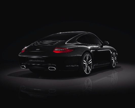 Back In Black. A Close Look At The 2011 Porsche 911 Black Edition.
