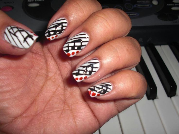 143 best nail designs images on pinterest nail designs artists music notes music notesnail designssong prinsesfo Image collections