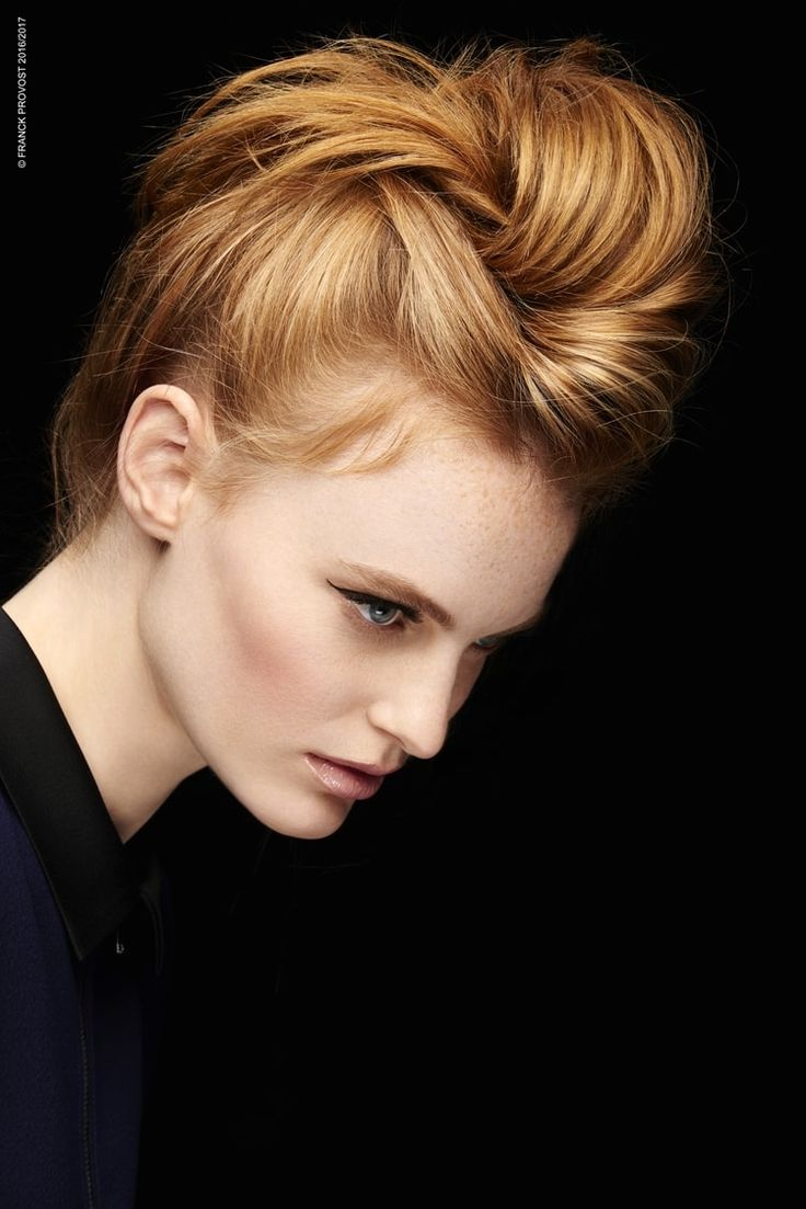 1000 Ideas About Chignon Moderne On Pinterest Updo Coiffure De