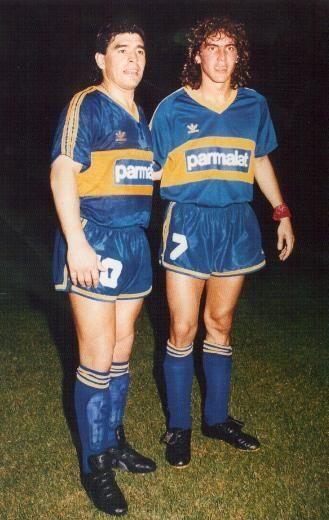 Maradona y el Manteca Martínez