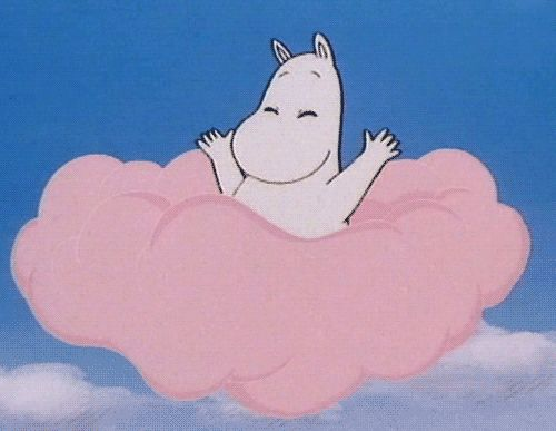 this is Moomin he is beautiful