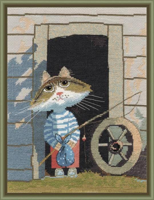 Набор для вышивания Овен 977 Рыбачок