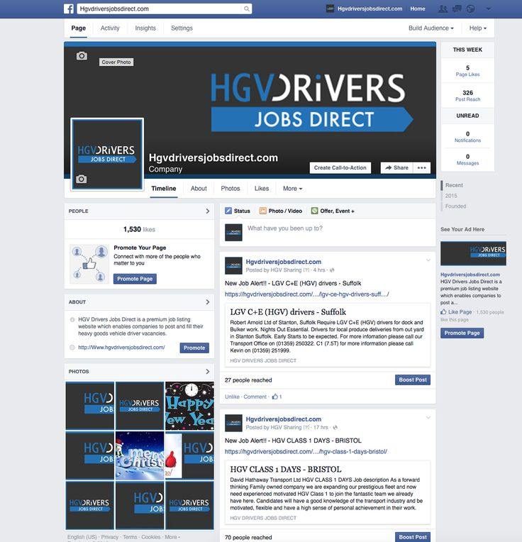 This is the Facebook page that was set up. Initially posts were made manually by foamy media alerting of a new job but then we changed it to automatic posting, and reposting to reduce time and energy used.   #hgv #hgvdriver #lorry #mobile #foamymedia #logo #graphicdesign #webdesign #logodesign #socialmedia #jobs