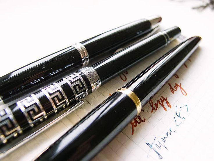 Waterman Carène Black Sea Fountain Pen Review