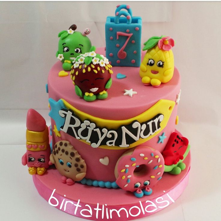 Shopkins cake _ cicibiciler pasta