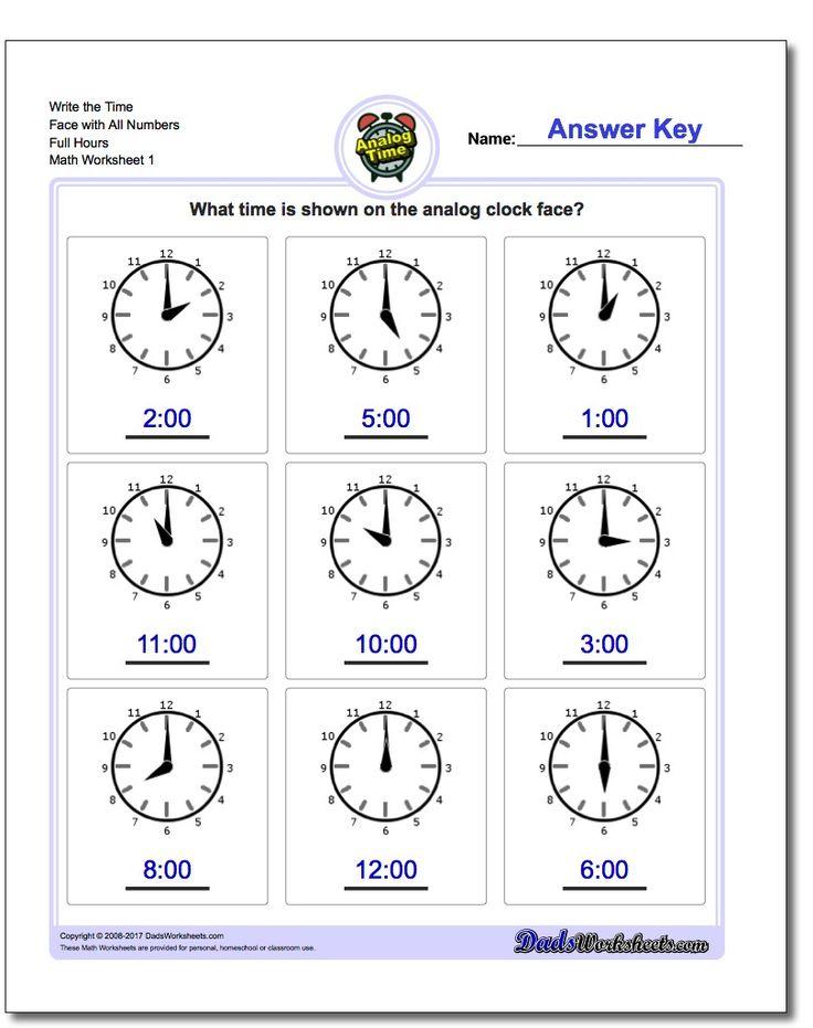 1573 best Math Worksheets images on Pinterest Math facts, Math - time worksheets