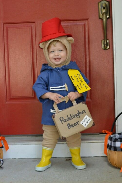 Paddington Bear toddler costume