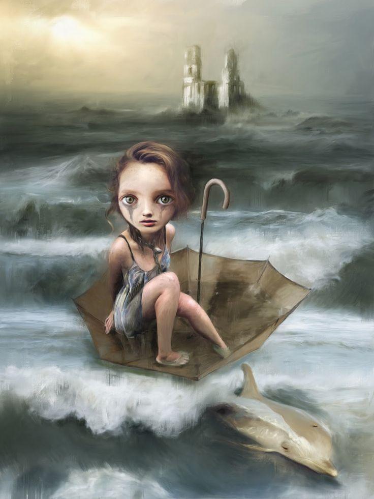 pop surreal artist Richard J Oliver
