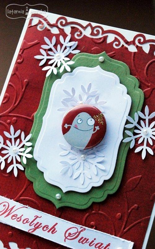 Kiss Christmas monster :-*   http://www.hurt.scrap.com.pl/plakietka-flair-buttons-potworna-kolekcja-1.html
