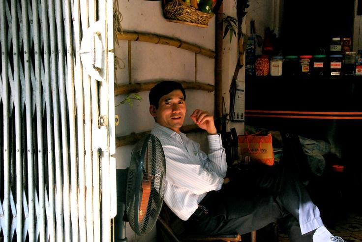 Shopkeeper, Hanoi, Vietnam, May 2012