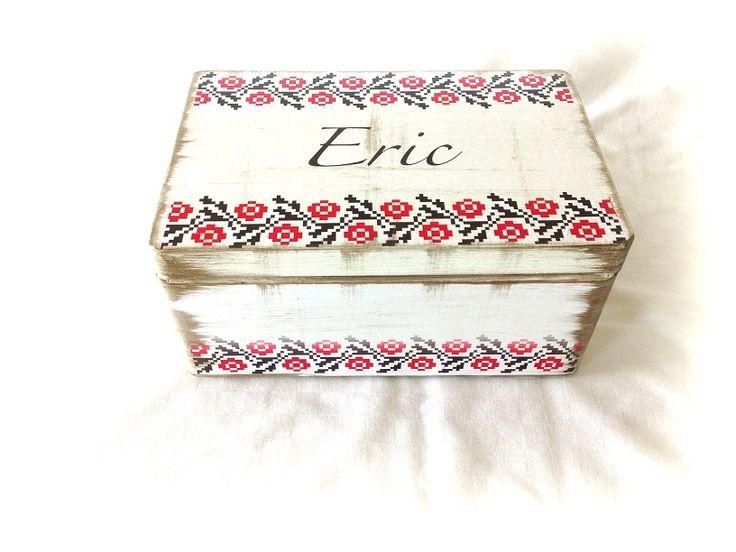 Etno Dream Box - cutie traditionala personalizata de LeCoseAnimate Breslo