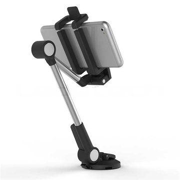 LD-302A Omni-directional Adjustable Front Glass Dashboard Sucker Desktop Stand Phone Tablet Holder Sale - Banggood.com