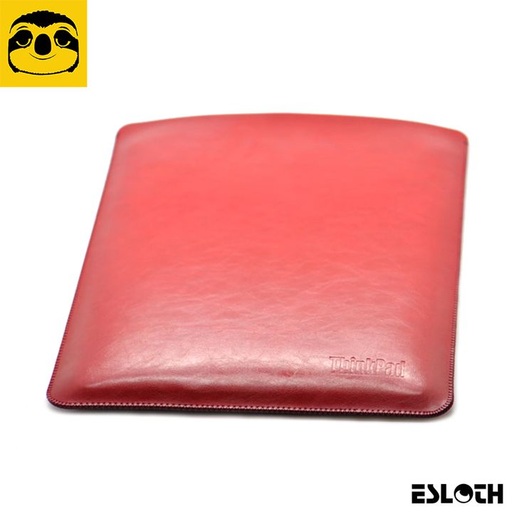 """==> [Free Shipping] Buy Best ESLOTH Crack Red For Lenovo ThinkPad X1 Carbon 14"""" PU Leather Cases Into Sets of Bladder Mac Bag Ultra Thin Light Laptop Bags Online with LOWEST Price 