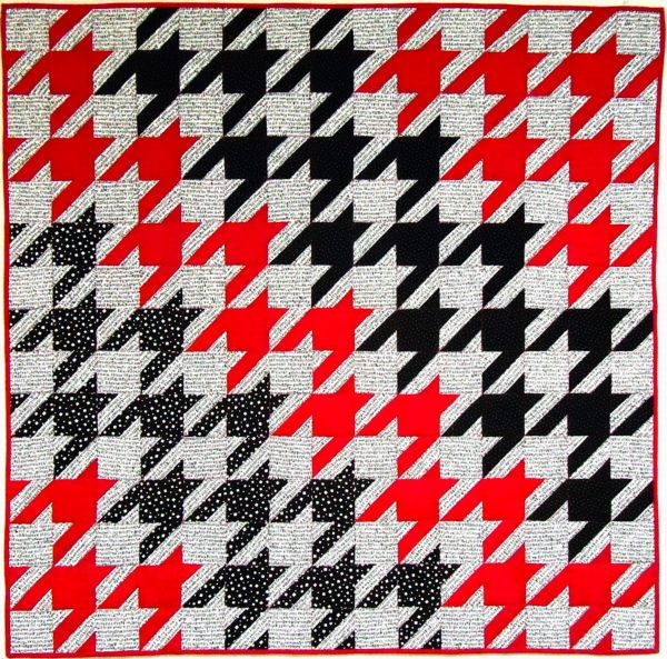 10 best images about red white black quilts on pinterest for Black white and gray quilt patterns