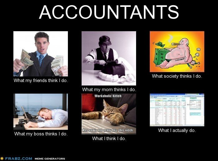 Accountants do it, every month end. CPA Pinterest