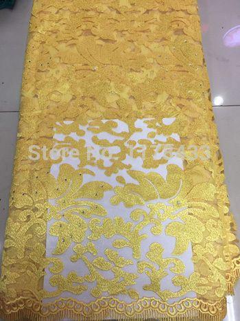 African Pearl камень Высокое Качество Чистая Кружева, Гипюр Французский Вуаль тюль сетка Кружевной Ткани Для платья Бесплатная Доставка SZY3334 зеленый купить на AliExpress