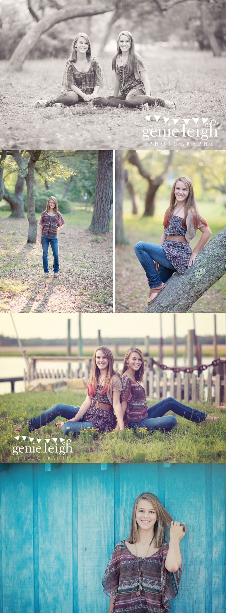 Summer & Lily - Teen photo shoot ideas » Genie Leigh Photography