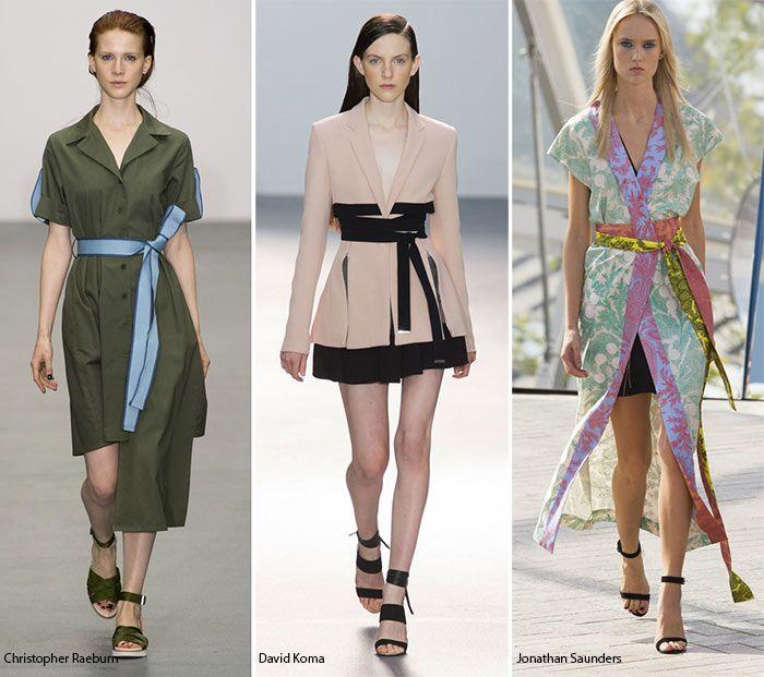 Spring Summer 2016 Fashion Trends