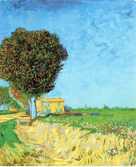 vincent van gogh landscape - Van Gogh Lebenslauf