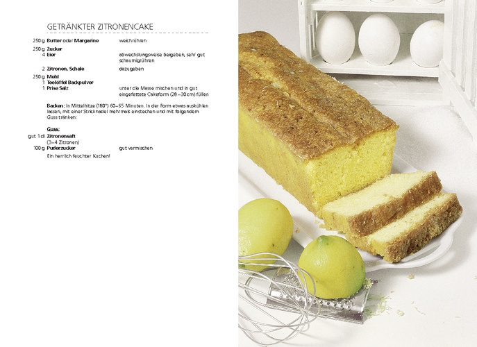 Betty Bossi | Getränkter Zitronencake