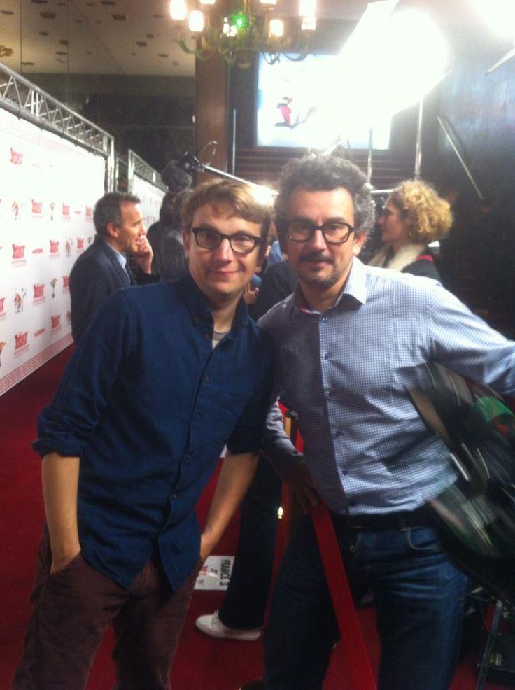 #ASTERIXDDD #exclu @LaurentDeutsch et notre journaliste de @m6 pour l AVP du #film au @LeGrandRexOff