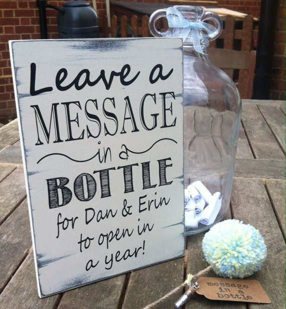 such a cute and unique wedding guest book idea; via etsy