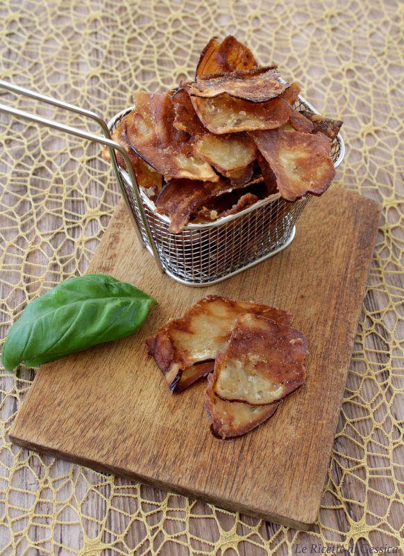 patatine di melanzane ricetta antipasto snack