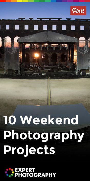 10 Weekend Photography Projects