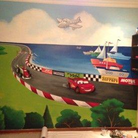 Mural De Cars   Buscar Con Google · Painted Wall MuralsPainted WallsDisney  PixarDisney ... Part 94