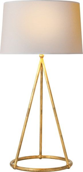 Visual Comfort Table Lamp, Contemporary Table Lamp, Nina Tapered Table Lamp